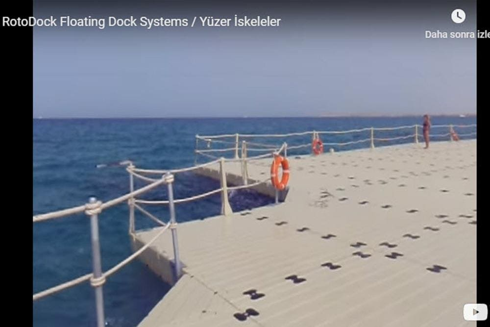RotoDock Floating Dock Systems