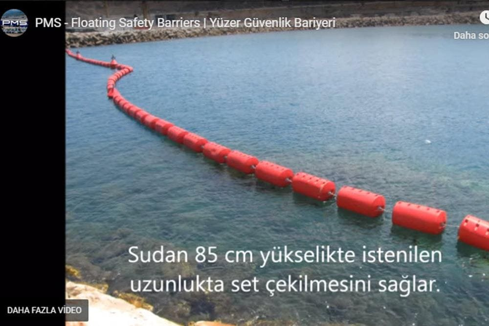 PMS - Floating Safety Barriers